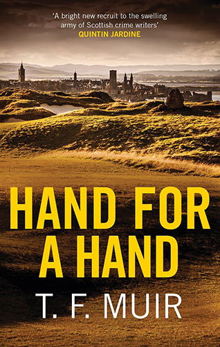 Hand for a hand book cover